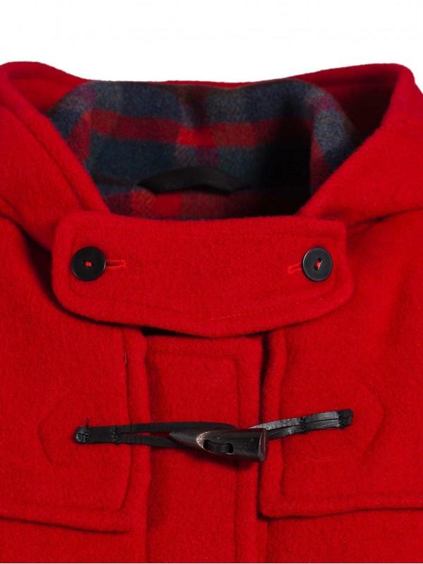 duffle coat laine made in france femme dalmard marine. Black Bedroom Furniture Sets. Home Design Ideas