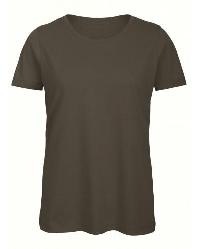 Lot 5 Tee shirt Coton Bio Femme FCBC043