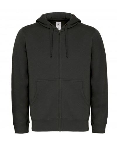 Sweat capuche grand zip