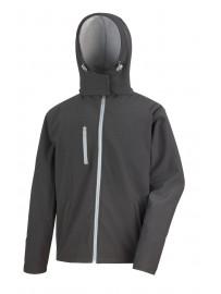 Veste Soft-Shell homme à capuche Fashion Cuir RS23073