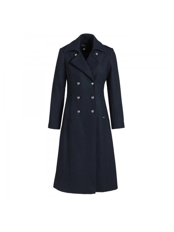 manteau laine made in france femme dalmard marine carnac