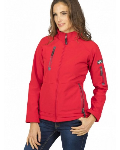 Veste Soft-Shell femme 3 couches Fashion Cuir PK77512