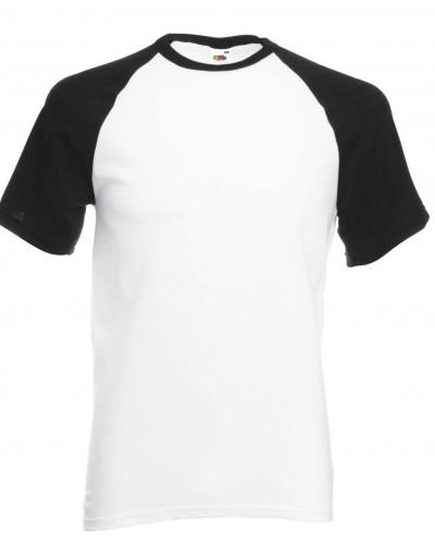 Lot de 3 tee shirt baseball bicolore