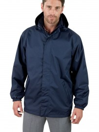 Veste polyester coupe vent