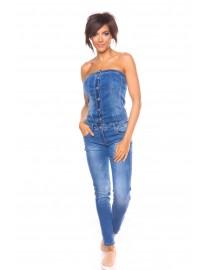 Combinaison en jean LA PETITE PARISIENNE