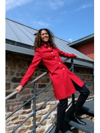Manteau Femme Laine made in France DALMARD MARINE Brighton
