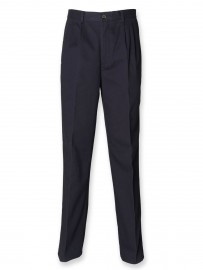 Pantalon a pinces 100% Coton