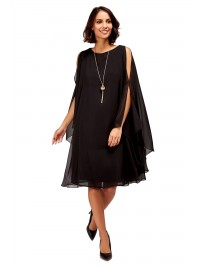 Tessy robe voile manches amples femme
