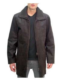 Men's leather parka Arturo ARM601