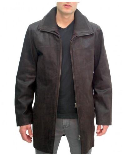 Men's leather parka Arturo ARM601