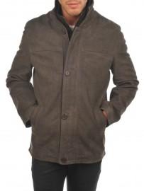 Men's long leather jacket Arturo ARM497 VN