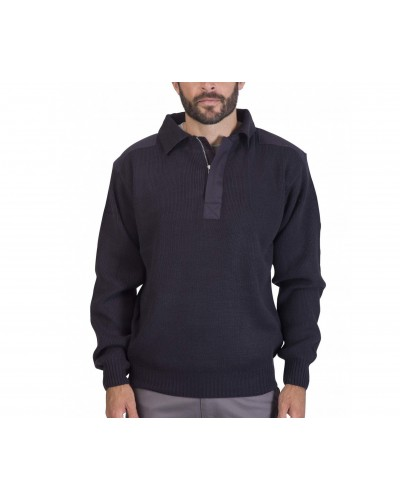 Pull acrylique Col Polo