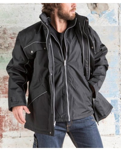 Parka Polyester Homme FASHION CUIR FCPK561