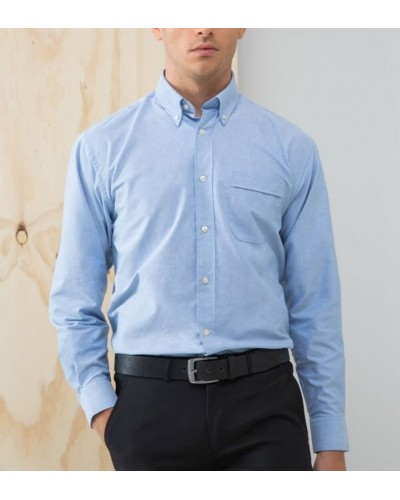 Chemise Oxford repassage facile .