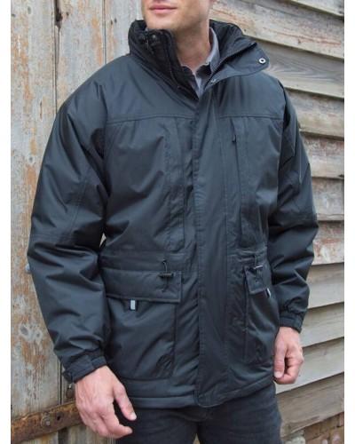 Parka Tissu Polyester pour Homme FCRS065