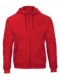 Sweat capuche et grand zip