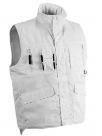 Gilet doublé multipoches