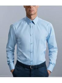Chemise à chevrons sans poche entretien facile