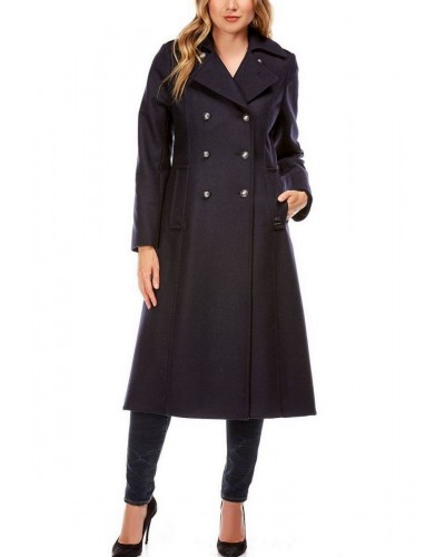 Manteau en laine Made in France