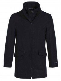 Manteau marin Laine et Cachemire Made in France