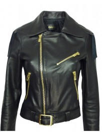 Women's leather jacket Barone suzy1