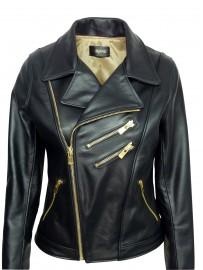 Women's leather jacket Barone samy