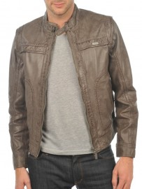 Men's leather jacket Arturo tim