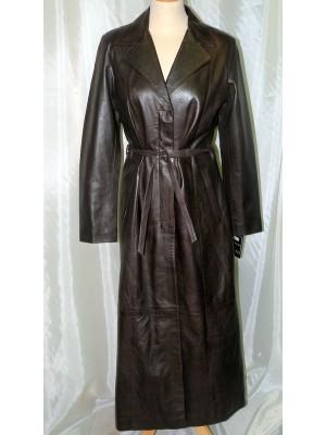 Manteau cuir sur mesure