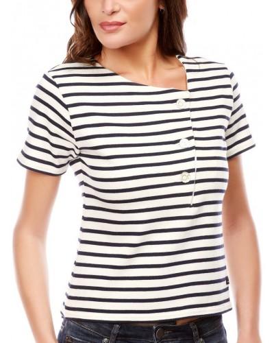 Mariniere tricot rayé