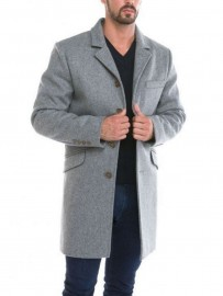 Manteau en Laine impermeable Made in france DALMARD MARINE
