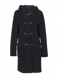 Manteau Duffle coat à chevrons Laine made in France