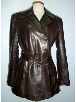 Manteaux cuir femme pas cher